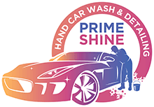 Prime Shine Car Wash Logo
