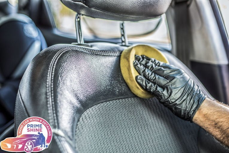 vehicle leather treatment service