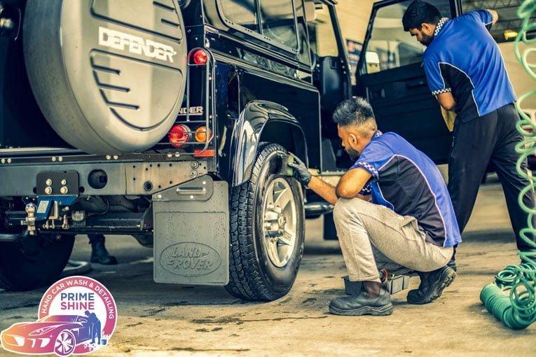 vehicle mini detail servise